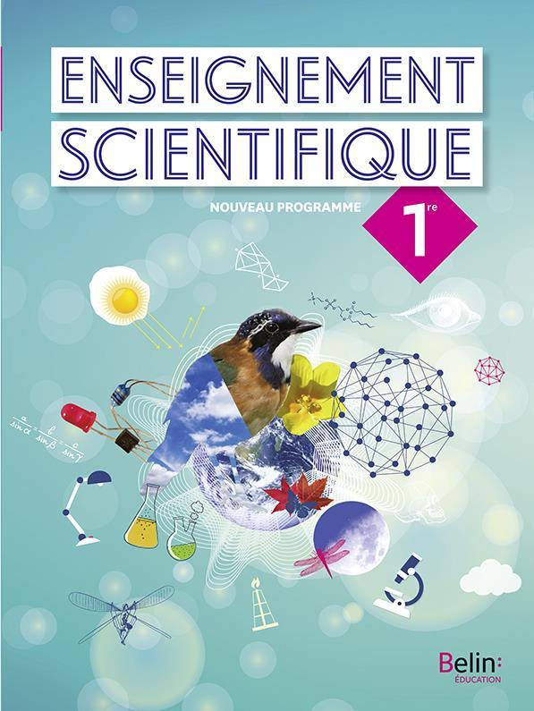 Enseignement scientifique, 1re ; manuel élève