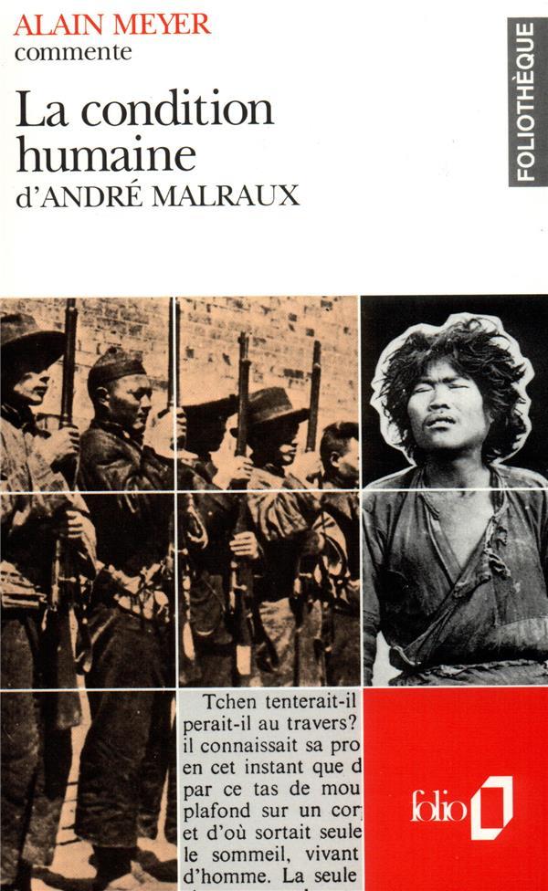 La Condition Humaine D'Andre Malraux  (Essai Et Dossier)