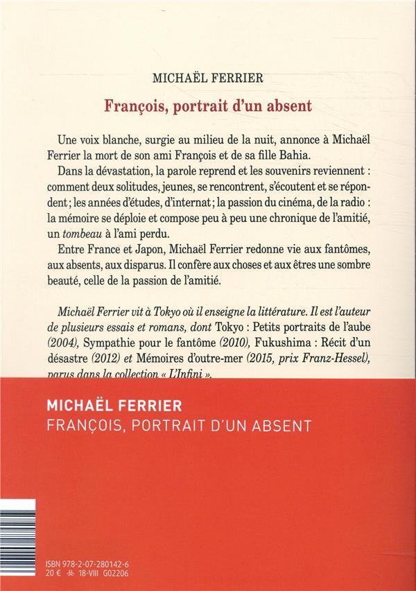 François, portrait d'un absent