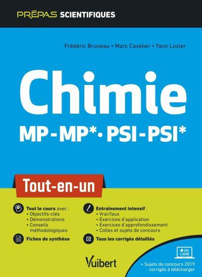 Chimie ; MP-MP* PSI-PSI*