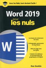 Vente Livre Numérique : Word 2019 poche pour les nuls  - Dan Gookin