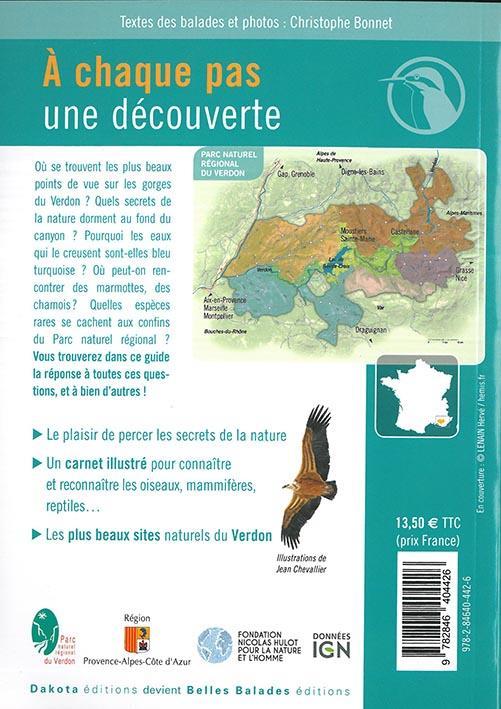 BALADES NATURE ; dans le parc naturel régional du Verdon