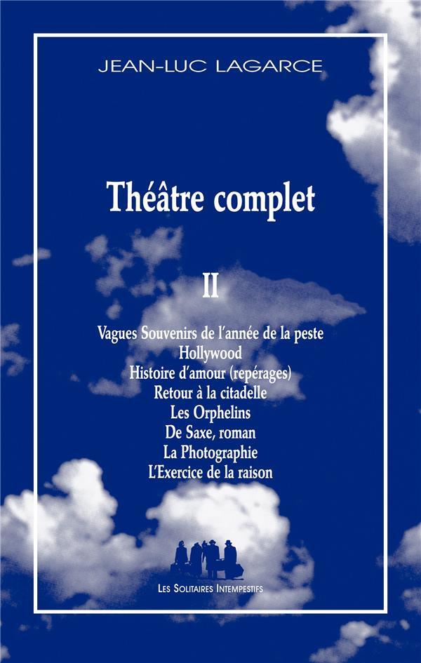 THEATRE COMPLET II
