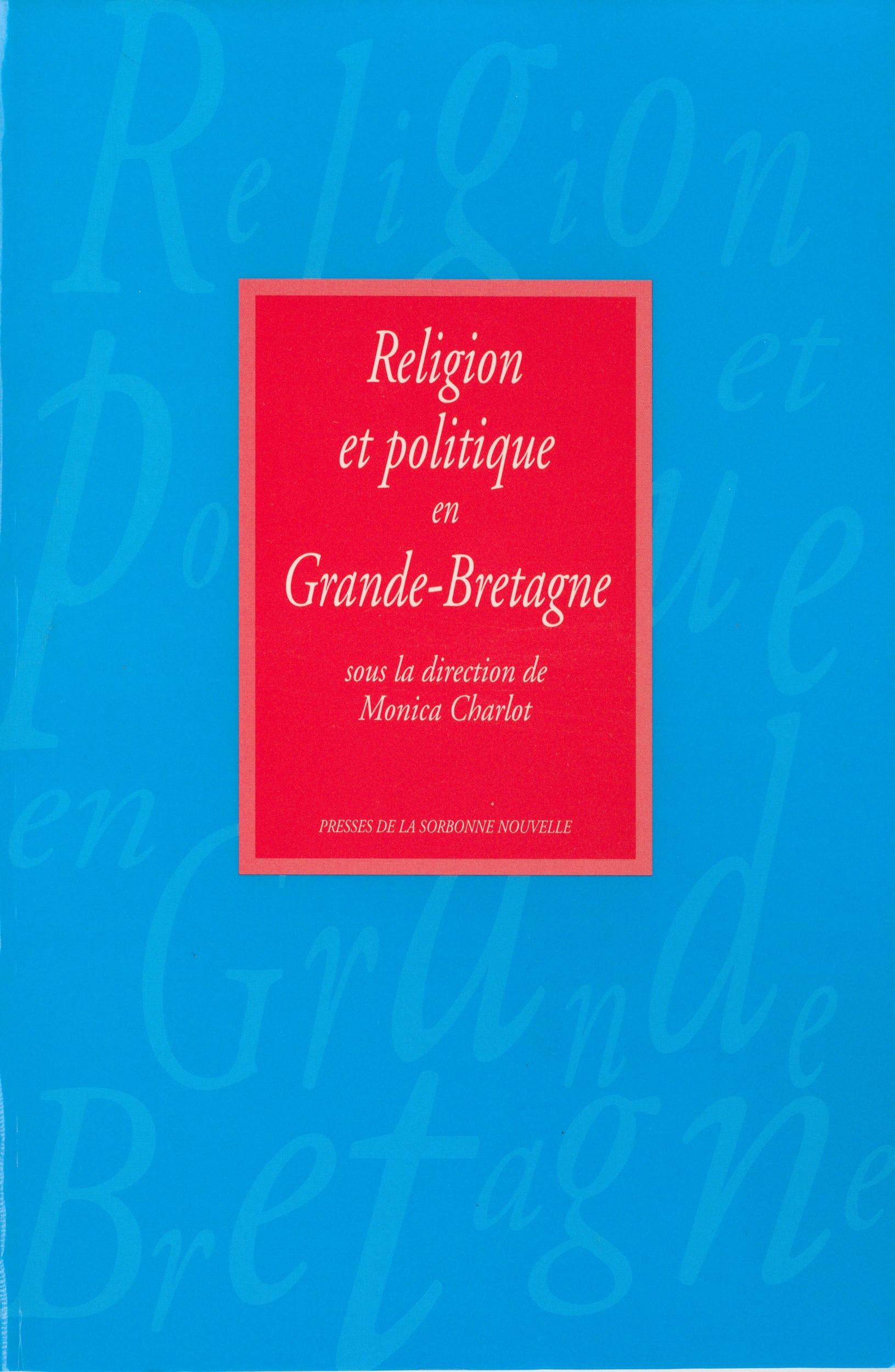 Religion et politique en grande-bretagne