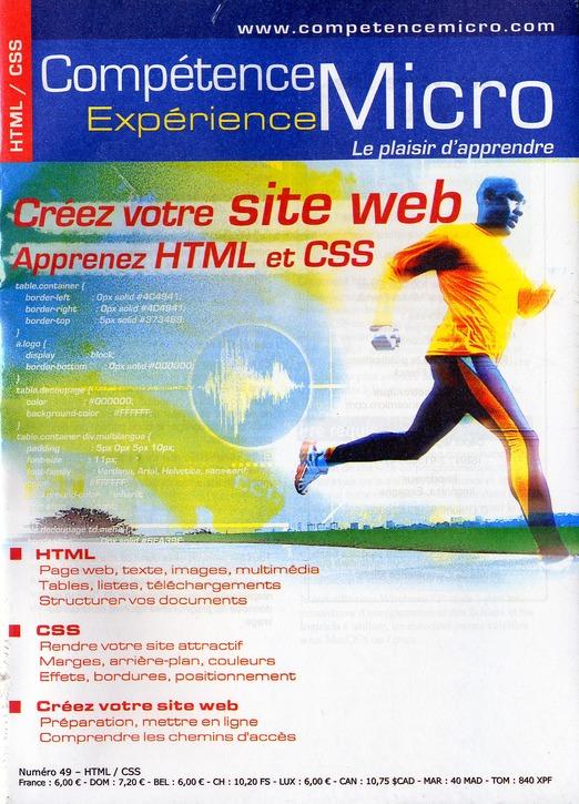 Creez Votre Site Web ; Aprenez Html Et Css