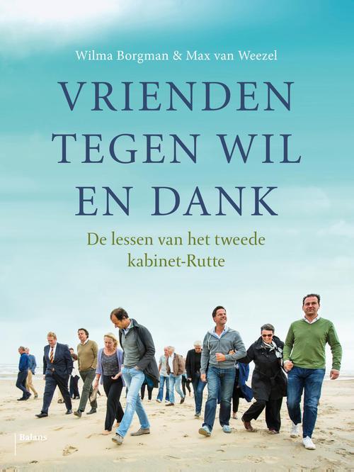 Vrienden tegen wil en dank - Wilma Borgman, Max Van Weezel - ebook