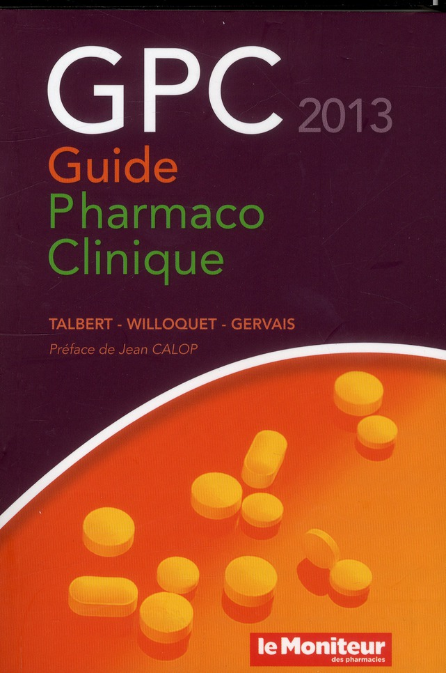 Guide Pharmaco Clinique 2013