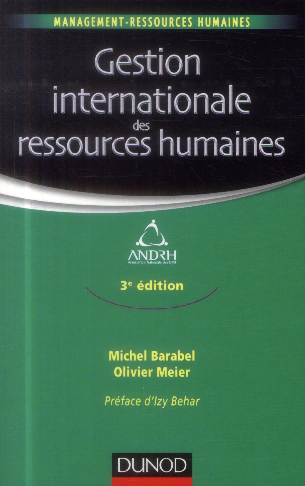 La gestion internationale des ressources humaines (3e édition)