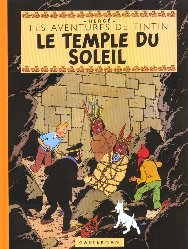 Les aventures de Tintin T.14 ; le temple du soleil