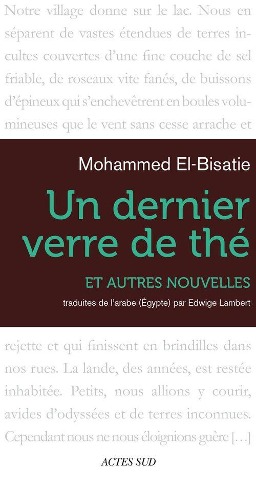 Un dernier verre de thé et autres nouvelles  - Mohammed El Bisatie