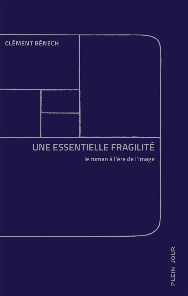 Une essentielle fragilité ; le roman à l'ère de l'image