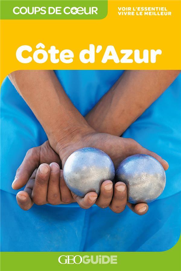 GEOguide coups de coeur ; Côte d'Azur (édition 2020)