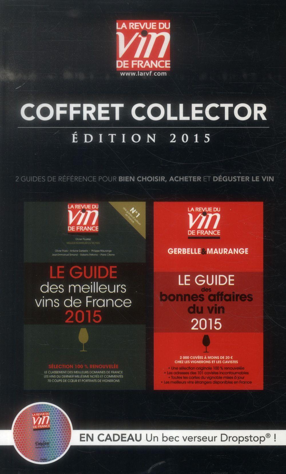 Le guide collector ; coffret ; guide vert ; guide rouge (édition 2015)