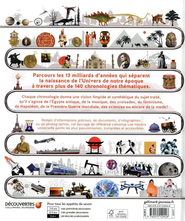 Chronologies visuelles ; tous les thèmes de la préhistoire à nos jours