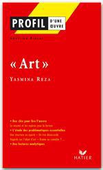 Vente Livre Numérique : Profil - Reza (Yasmina) : Art  - Aurélien Pigeat - Yasmina Reza