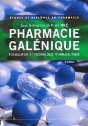 Pharmacie Galenique (2e Edition)