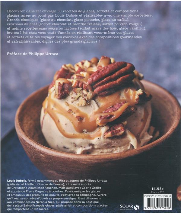 desserts et glaces à la sorbetière