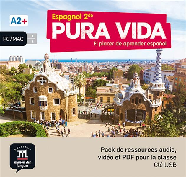 Pura vida ; espagnol ; 2de