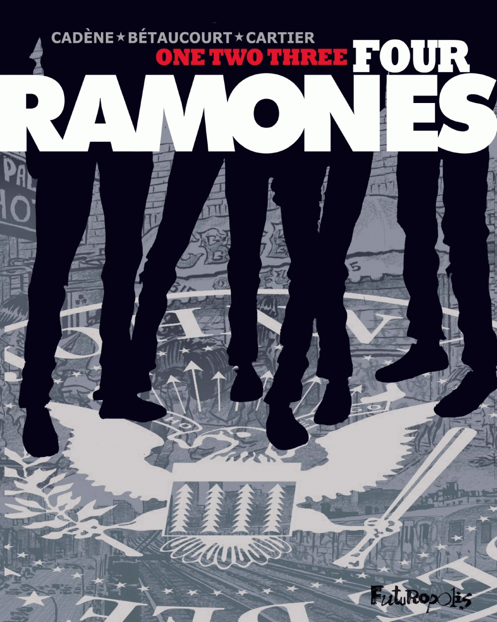 One, two, three, four Ramones
