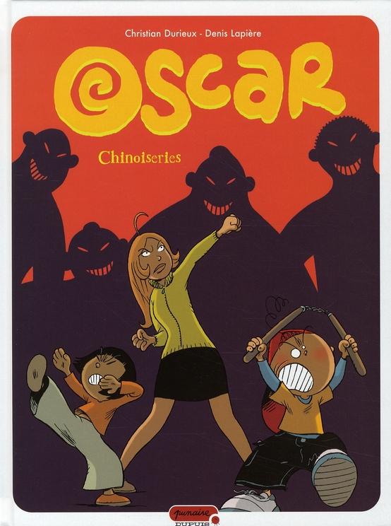 Oscar t.5 ; chinoiseries