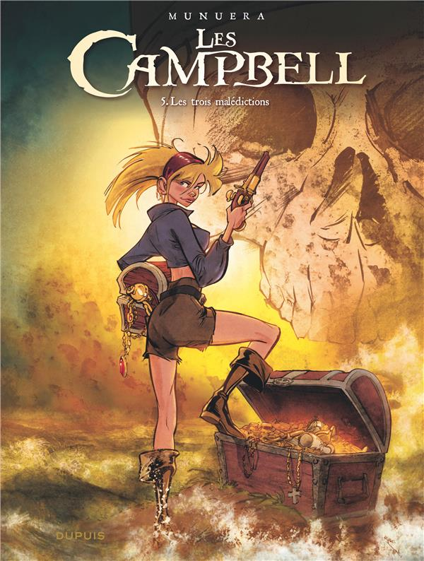 Les Campbell T.5 ; les trois malédictions
