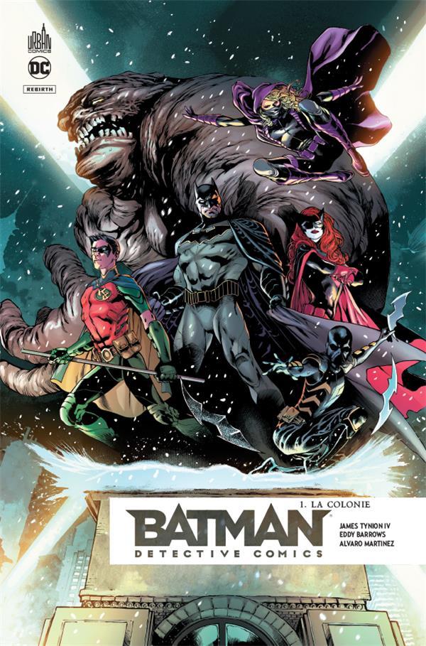 Batman - detective comics t.1 ; la colonie