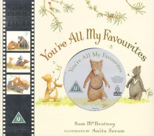 You're All My Favourites ; Story Book and DVD