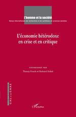 Vente Livre Numérique : L'économie hétérodoxe en crise et en critique  - Thierry Pouch - Richard Sobel