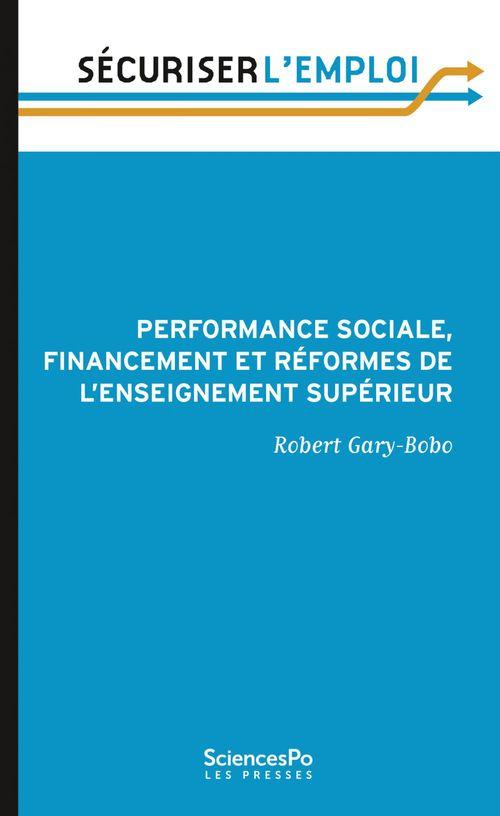 Performance et financement des universités