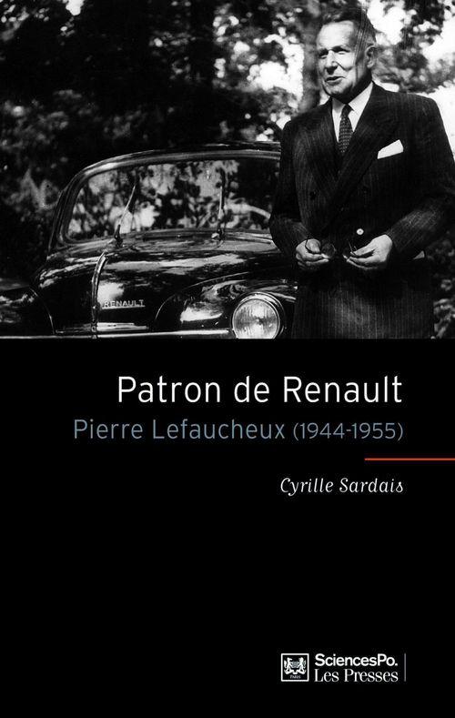 Patron de Renault ; Pierre Lefaucheux (1944-1955)