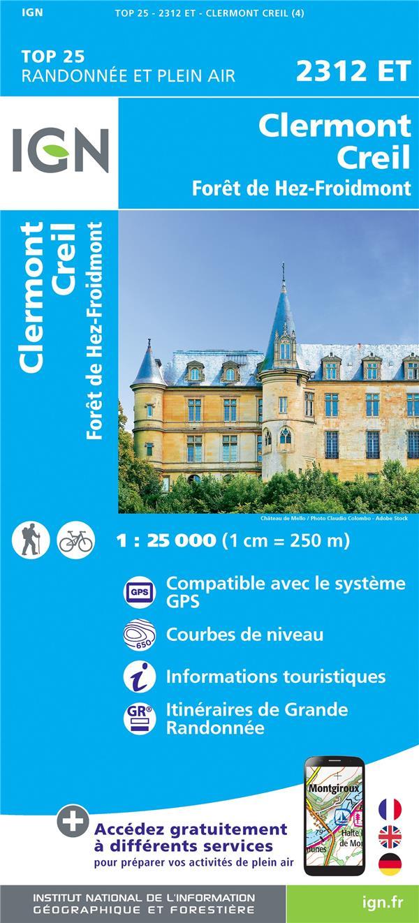 2312ET ; Clermont, Creil, forêt de Hez-Froidmont