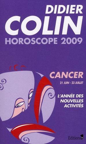 Horoscope 2009 - cancer