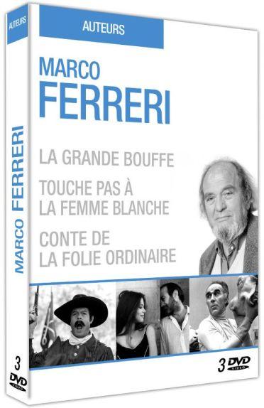 Marco Ferreri : Touche pas à la femme blanche ! + Conte de la folie ordinaire + La grande bouffe