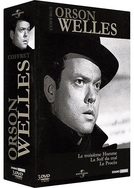 Orson Welles : Le troisième homme + La soif du mal + Le procès