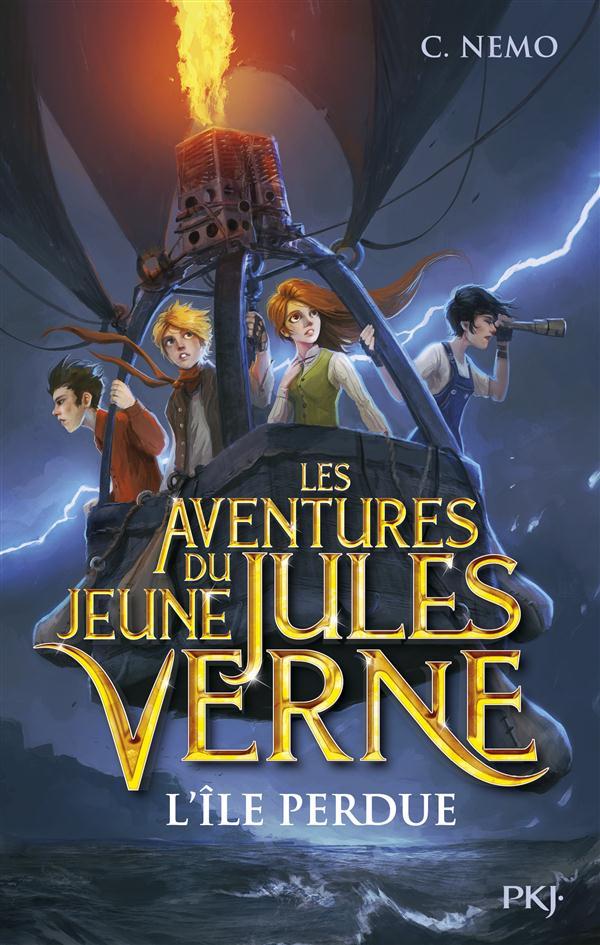 Les Aventures Du Jeune Jules Verne T.1 ; L'Ile Perdue