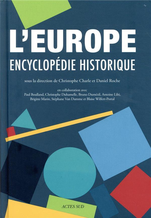 L'Europe ; encyclopédie historique