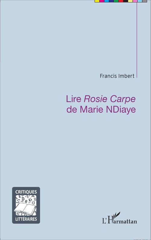 Lire Rosie Carpe de Marie Ndiaye