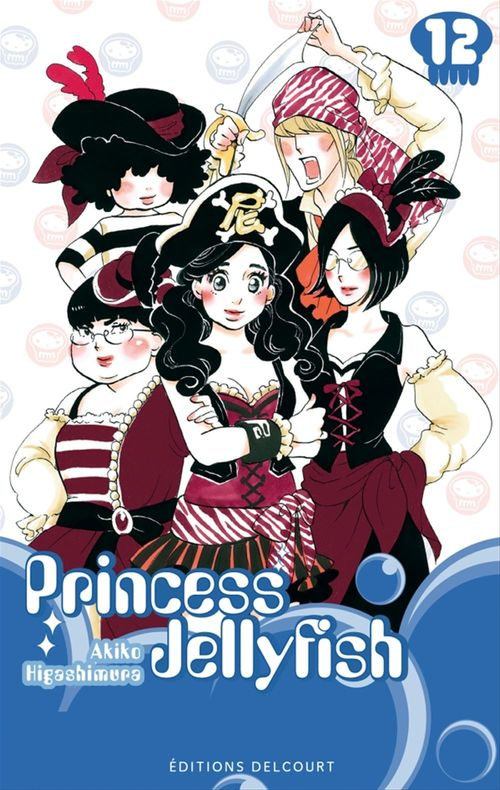Princess Jellyfish T.12