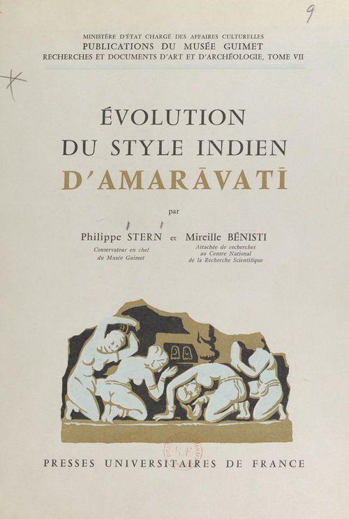 Évolution du style indien d'Amaravati