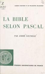 La Bible selon Pascal