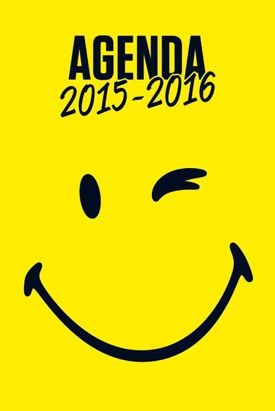 Smiley ; Agenda 2015-2016