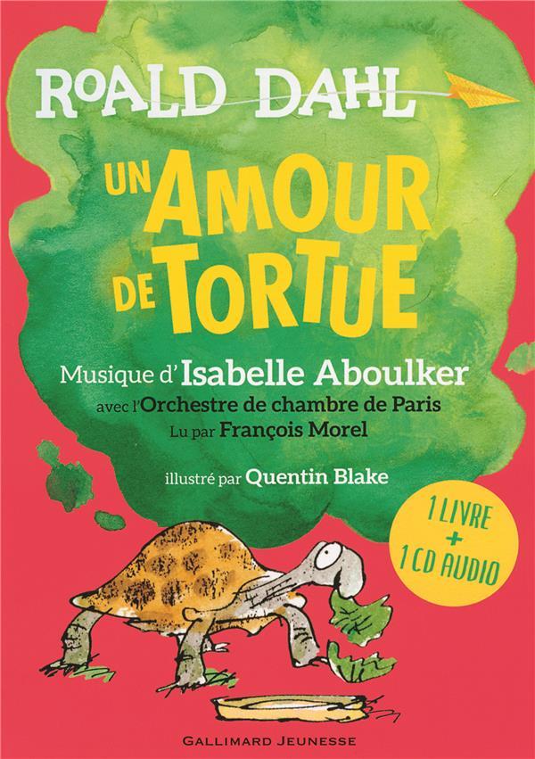 Un amour de tortue livre-cd