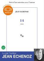 Vente AudioBook : 14  - Jean Echenoz
