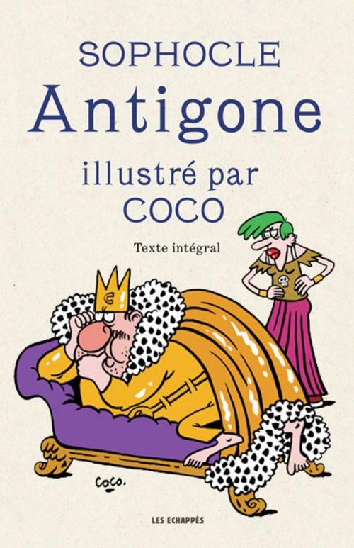 Antigone illustré par Coco