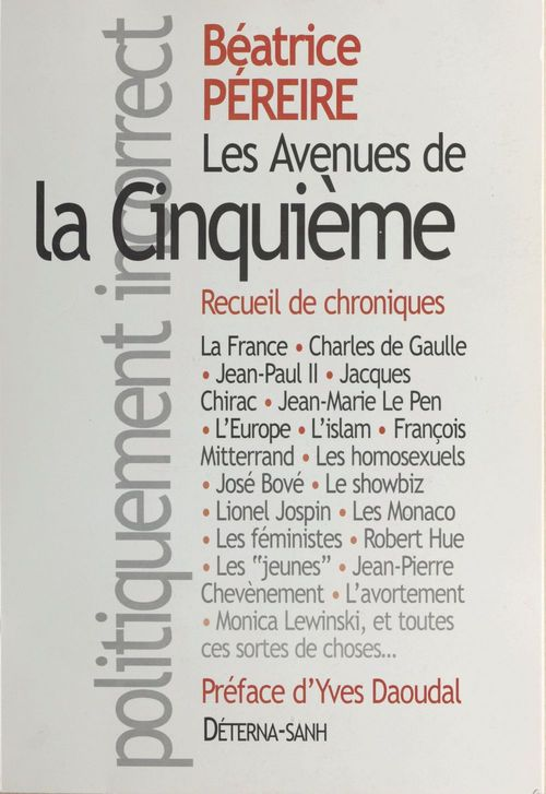 Les avenues de la Cinquième : recueil de chroniques
