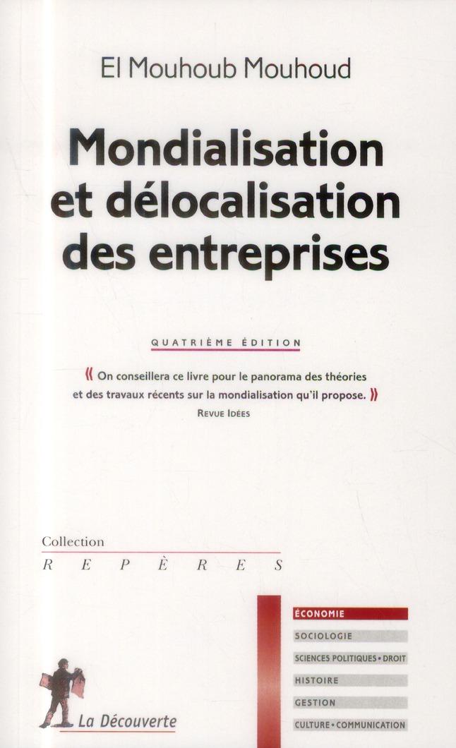 Mondialisation Et Delocalisation Des Entreprises (4e Edition)
