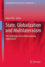 Vente Livre Numérique : State, Globalization and Multilateralism  - Mario Telò