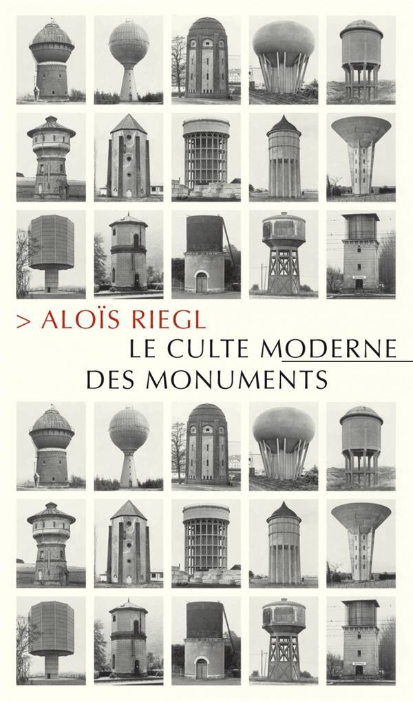 Le culte moderne des monuments ; sa nature et ses origines