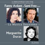 Vente AudioBook : La Musica Deuxième  - Marguerite Duras
