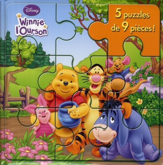 Winnie , Mon Petit Livre-Puzzle
